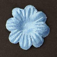 Цветок семилистник. голубой. Размер 17 мм