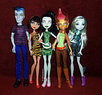 Monster High We Are Student Disembody Набор кукол монстер хай Студенческий совет