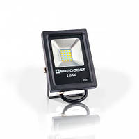 Прожектор уличный светодиодный Евросвет LED EVRO LIGHT ES-10-01 10Вт 6400K 550Lm SMD