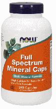 Минеральный Комплекс, Now Foods, Full Spectrum Minerals, 240 Caps