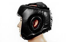 Шлем боксерский открытый черный PU EVERLAST BO-4492-BK, фото 3