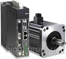 Delta A2, 200Вт, 1-ф, 230В, номин.момент 0,64Нм., 3000об./мин. энкодер 20 бит Комплект сервопривода