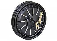 """Мотор-колесо 48 вольт 1000 ватт с ободом 12"""" для скутера  Модель: МКС 48/1000R12"""