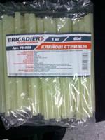 Cтержни клеевые Brigadier Professional, 1 кг, прозрачные