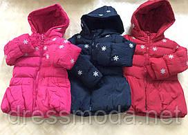 Куртки зимние для девочек Nature 12/18-30/36 мес.