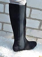 Элегантные замшевые сапоги бренда BRASKA., фото 1