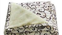 Одеяло ОТКРЫТОЕ овечья шерсть (Поликоттон) Двуспальное T-51228
