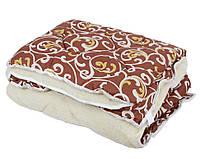Одеяло ОТКРЫТОЕ овечья шерсть (Поликоттон) Двуспальное T-51233
