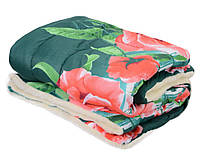Одеяло ОТКРЫТОЕ овечья шерсть (Поликоттон) Двуспальное Евро T-51246