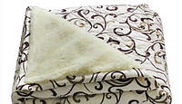 Одеяло ОТКРЫТОЕ овечья шерсть (Поликоттон) Двуспальное Евро