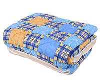 Одеяло ОТКРЫТОЕ овечья шерсть (Поликоттон) Полуторное T-51264