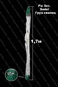 """Рыболовные трехстенные сети 65х1.7м из лески. """"Sadei"""" - клепанный груз"""
