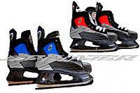 Коньки хоккейные (PVC-ткань-сталь). Размер: 38, 39, 40, 45, 46. PW-216CE