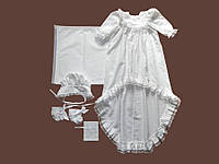 Набор для крещения из фланели. Модель  Princess 2