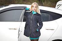 Куртка-ветровка серая на молнии (с капюшоном) windbreaker jacket  К-3837 , фото 1