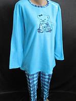 Жіноча флісова піжама з ведмедиком.4 кольори в наявності