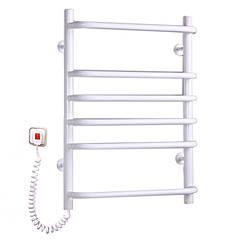 Электрич.полотенцесушитель Стандарт-6 (680*500*130) 95 Вт белый
