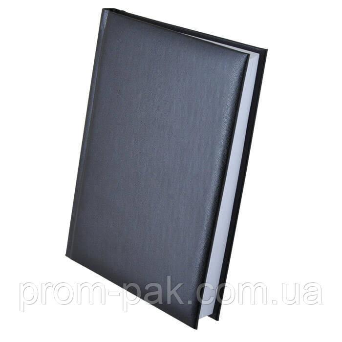 Стильный недатированный ежедневник Expert  А5, черный