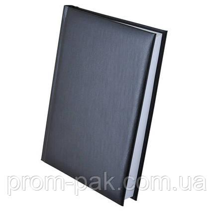 Стильный недатированный ежедневник Expert  А5, черный, фото 2