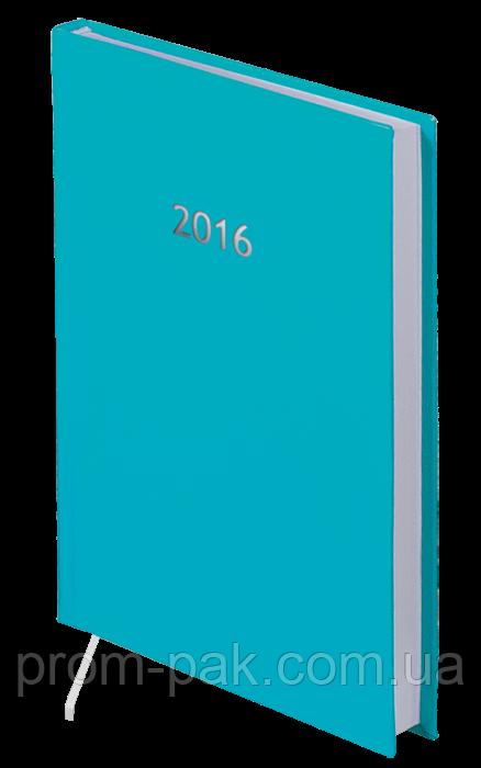 Удобный датированный ежедневник Strong А5, бирюза 2020