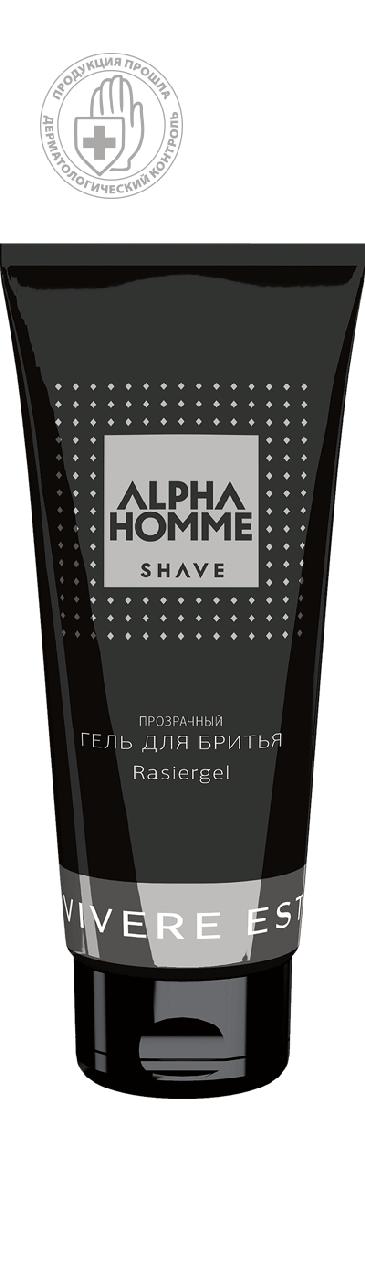Гель для бритья ALPHA HOMME SHAVE