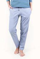 Штаны голубые с карманами