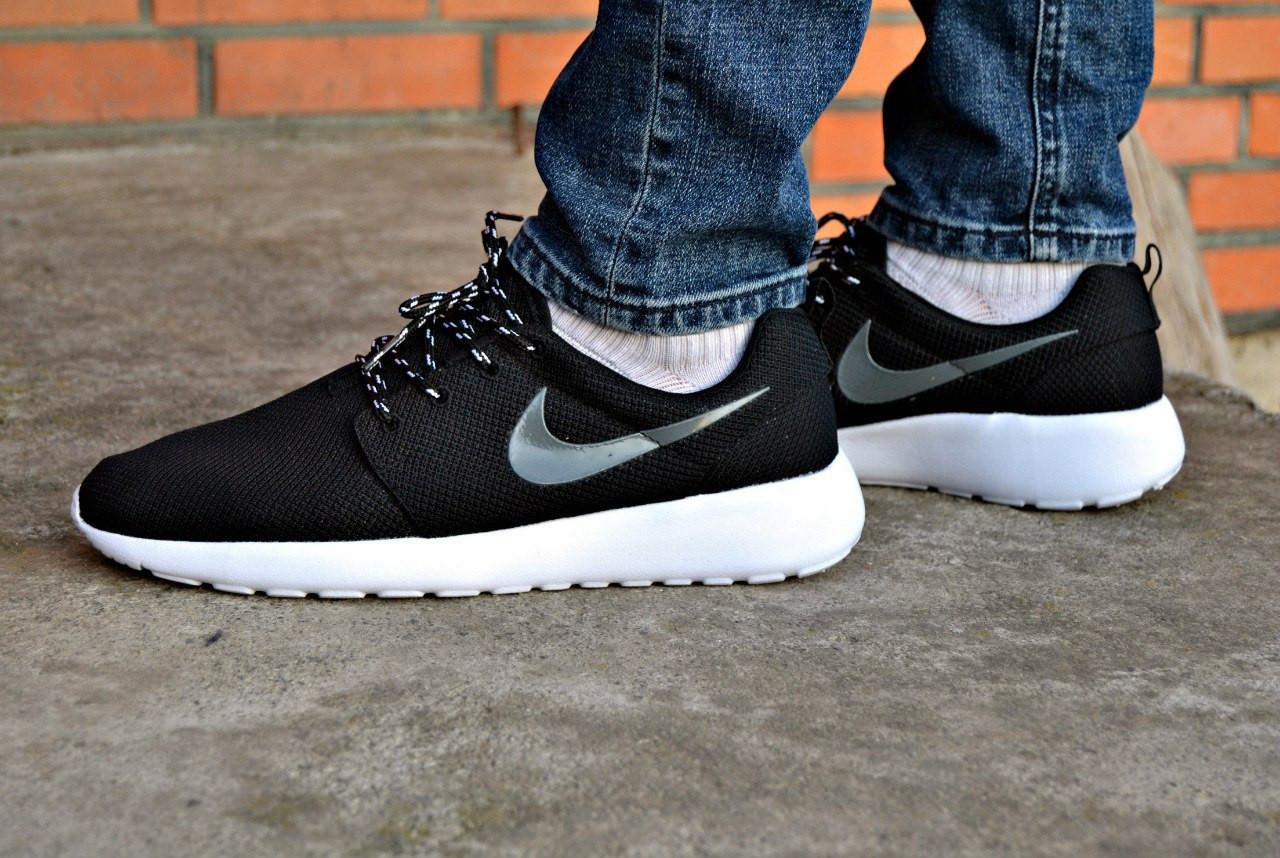 Кожаные кроссовки Nike roshe run, мужские, женские - ATTIC   одежда, обувь, ae06a0babcb