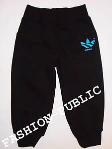Утепленные спортивные штаны на мальчика