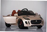 Детский электромобиль JAGUAR MD218  цвет серый металик