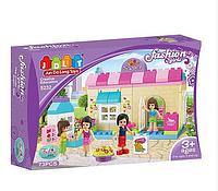 Детский конструктор JDLT 5232 Модный дом, 73 детали