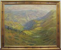"Картина ""Осінь в Карпатах"" Манайло Ф.Ф. 1950-е г.г."