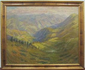 Картина Осінь в Карпатах Манайло Ф.Ф. 1950-е г.г.
