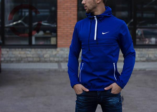 Анорак, цвет электрик, мужская куртка, фото 2