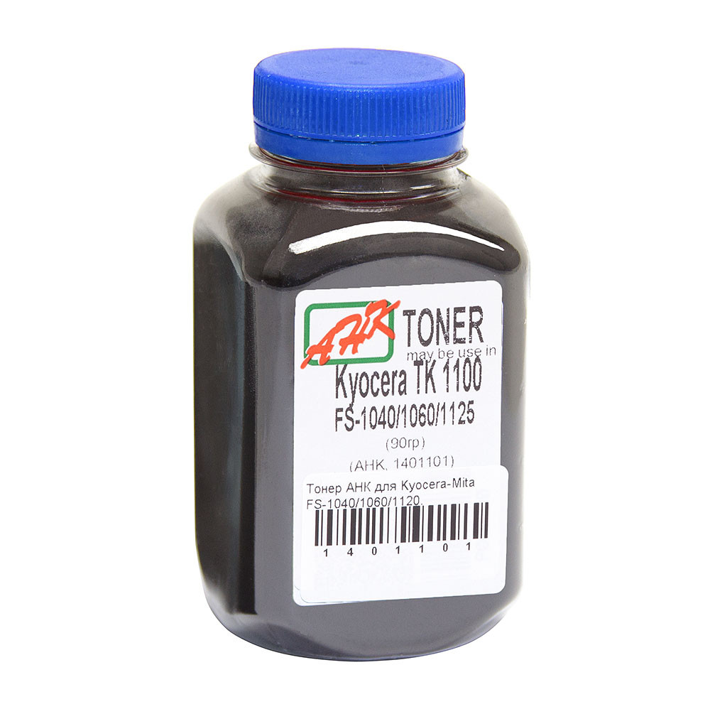 Тонер АНК для Kyocera-Mita FS-1040/1060/1120, TK-1110/1114/1120/1124 бутль 90г (1401101)