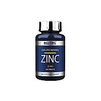 Витамины и минералы Scitec Nutrition Zinc (25 mg) (100 tabs)