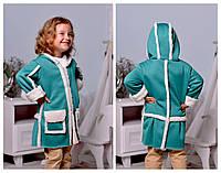 Осеннее детское пальто ев2112