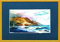 Набор для валяния картины В-65 Морской пейзаж
