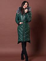 Зимняя курточка с удлененнй спинкой