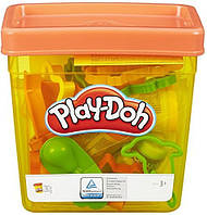 Play-Doh Fun Tub контейнер с инструментами