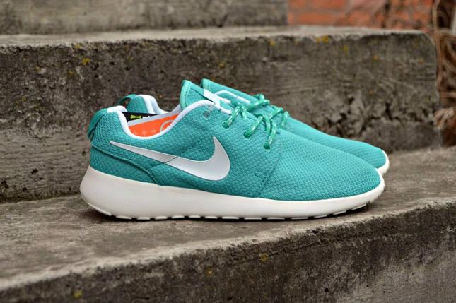 кроссовки на тканевой основе  Nike roshe run, женские ,стильные , фото 2