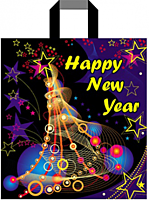 Пакеты полиэтиленовые новогодние