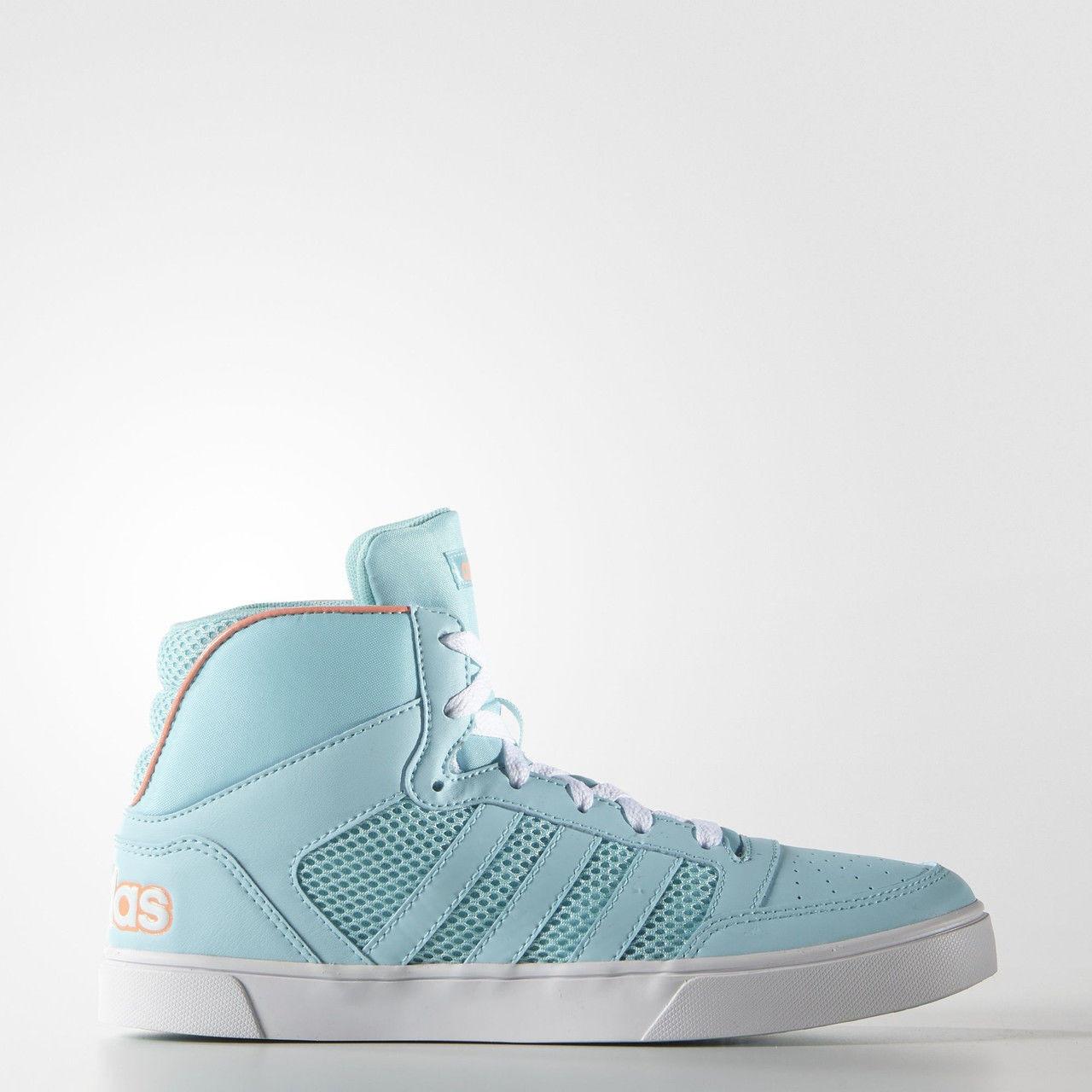 Кроссовки женские высокие Adidas Hoops Vulc Mid F99490
