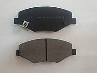 Колодки тормозные передние без ушка  Chery Amulet