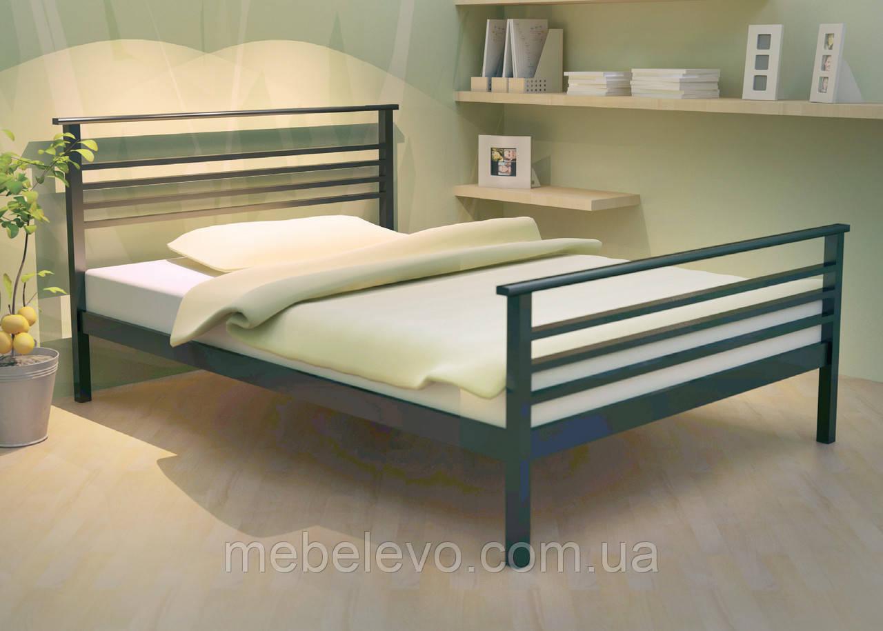 Кровать Лекс 1  односпальная 80  Метакам