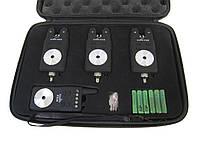 Набор сигнализаторов поклевки с пейджером SF23656