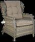 Набор  ротанга BILBAO MELANGE 3 диван + кресла +стол, фото 4