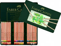 Набор цветных пастельных карандашей PITT 60 цветов Faber-Castell