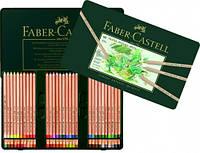Набір кольорових пастельних олівців PITT 60 кольорів Faber-Castell