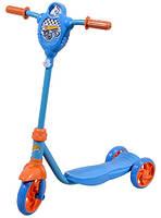 Скутер детский лицензионный HOT WHEELS 3-х колесный, пропеллер (Т57587)