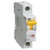 Автоматичний вимикач ВА47-60 1P 16 A С IEK